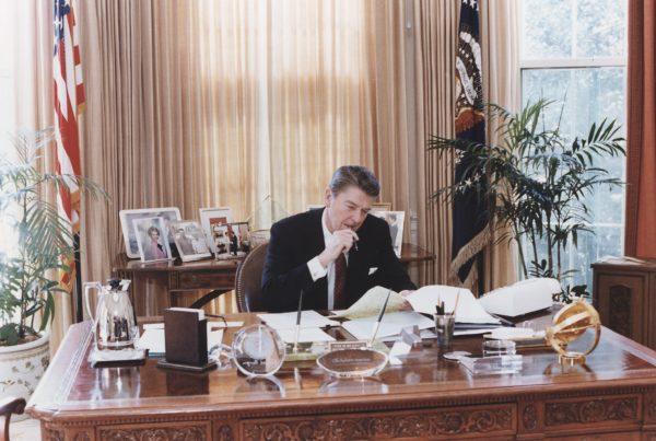 De beste speech van Ronald Reagan